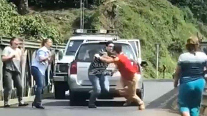Șocant! Un tată care își ducea bebelușul mort acasă, împușcat în urma unui incident în trafic