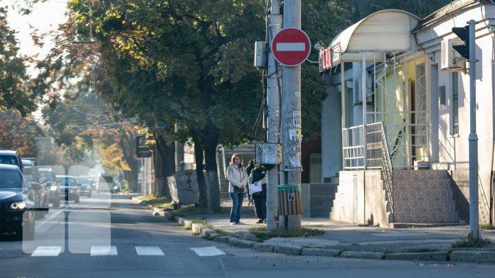 Cele mai importante străzi din Chişinău vor fi ÎNCHISE TEMPORAR în timpul vizitei preşedintelui turc (HARTA)