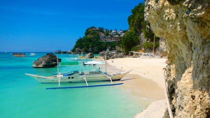 Insula Boracay din Filipine, un adevărat paradis exotic, redeschisă turiștilor