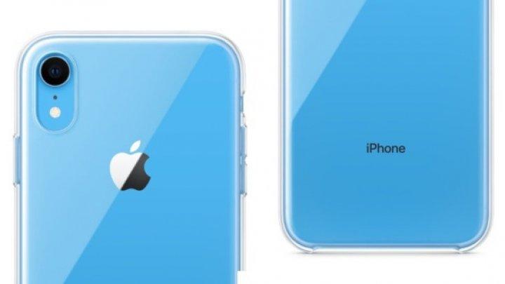 Apple va oferi o carcasă de protecţie pentru iPhone XR, de tip transparent