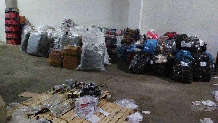 Mărfuri de contrabandă de circa UN MILION DE LEI, descoperite în gospodăria unui bărbat din Briceni. Ce riscă suspectul