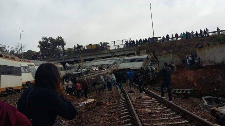 TRAGEDIE în Maroc. Cel puţin şase morţi şi mai mulţi răniţi după ce un tren a deraiat