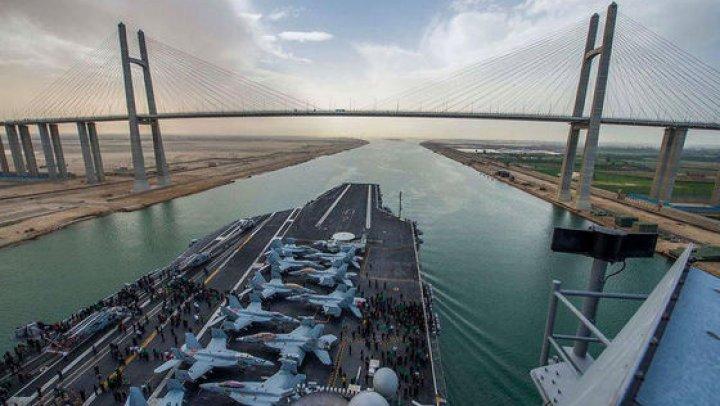 TENSIUNILE se pot amplifica: Nave militare SUA au tranzitat Strâmtoarea Taiwan