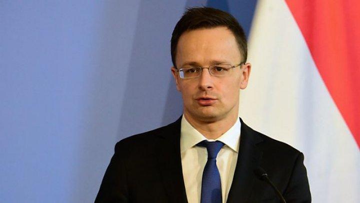 Ministrul de externe ungar critică Ucraina in legătura cu lista persoanelor cu dubla cetăţenie. Ce a spus acesta