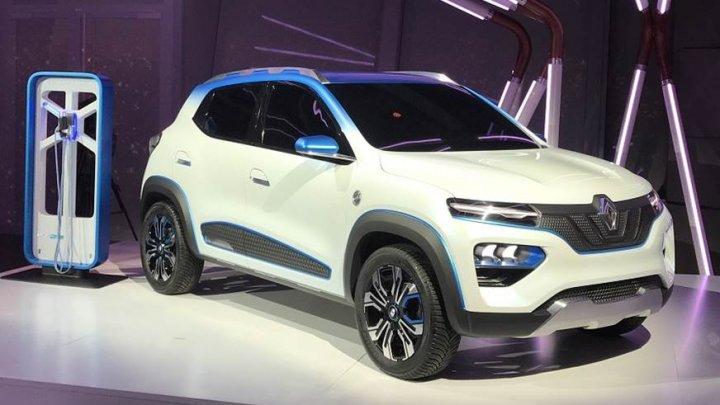 Renault a prezentat conceptul K-ZE, mini-SUV-ul electric low-cost cu o autonomie de 250 de kilometri