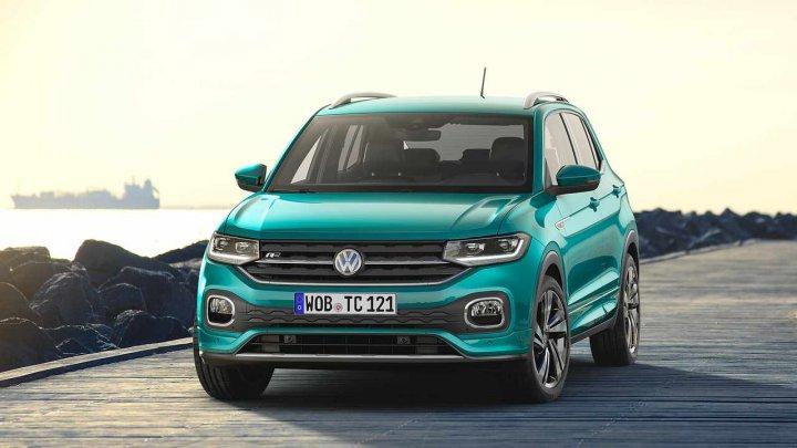 Volkswagen a publicat primele imagini și detalii despre noul T-Cross