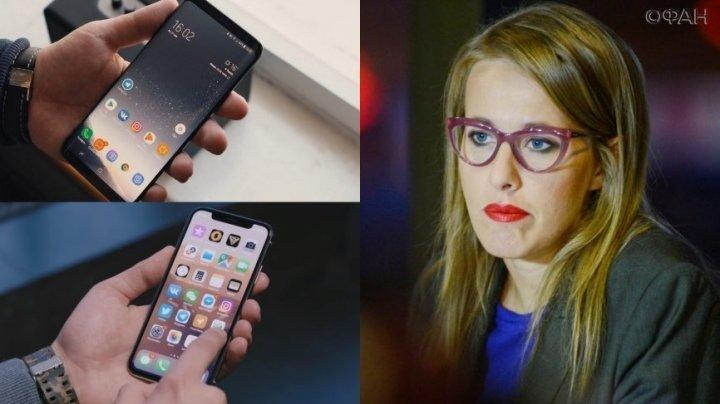 Fosta candidată la ultimile prezidenţiale ruse, a fost dată în judecată pentru că a folosit un iPhone