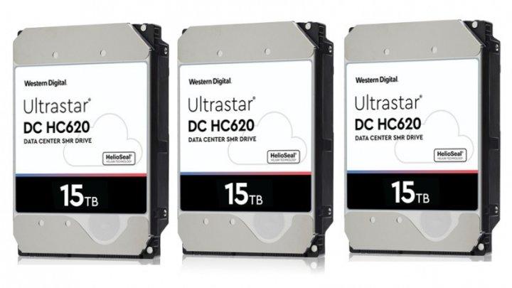 Western Digital a dezvăluit primul hard disk cu capacitate de 15 TB