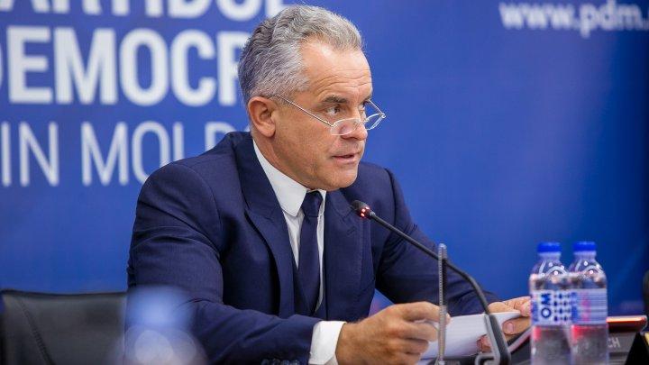 Liderul PDM, Vlad Plahotniuc: Vrem ca cetăţenii Republicii Moldova să aleagă direct judecătorii