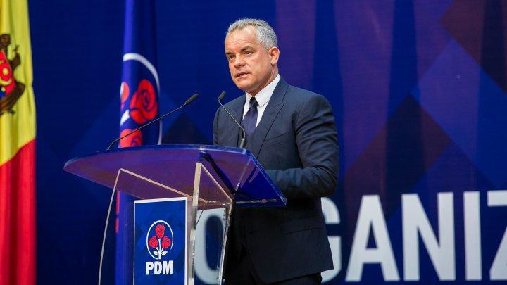 Vlad Plahotniuc a început oficial campania electorală în circumscripția uninominală nr.17 din Nisporeni