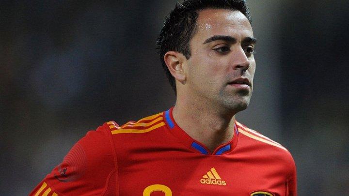 Fotbalistul spaniol Xavi Hernandez va disputa al 1.001-lea meci din cariera sa