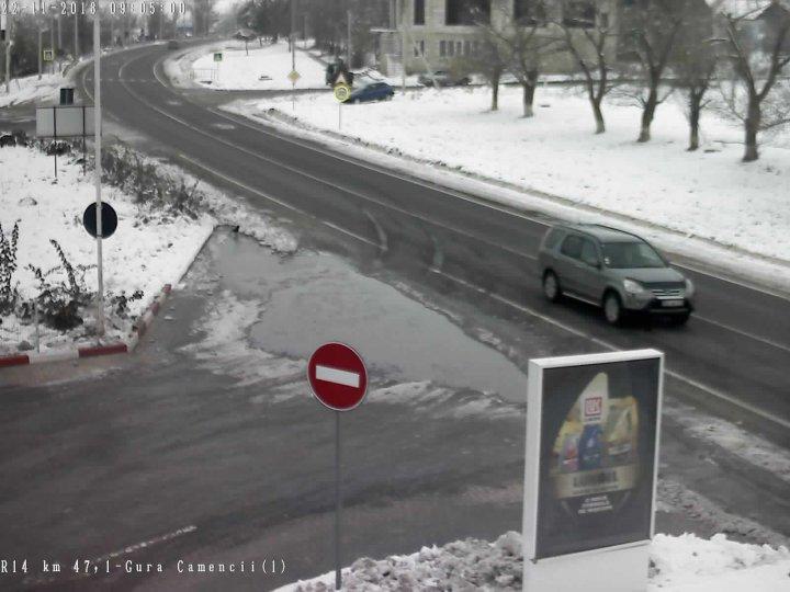 POLEI ÎN TOATĂ ŢARA. Cum se circulă la această oră pe drumurile naţionale (GALERIE FOTO)