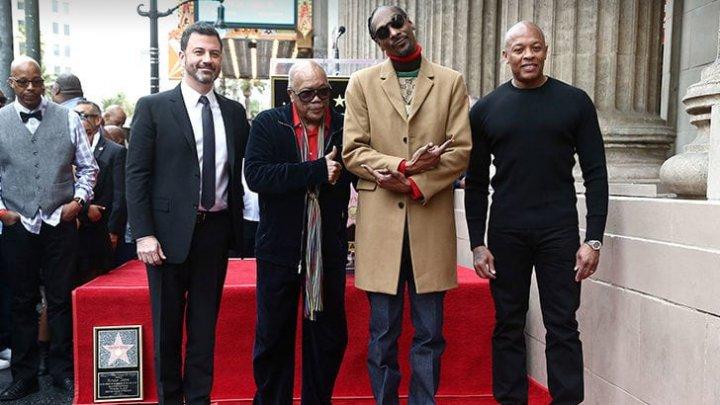 Snoop Dogg a primit o stea pe Walk of Fame