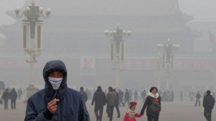 China: Primul val de SMOG va lovi mai multe localități din țară