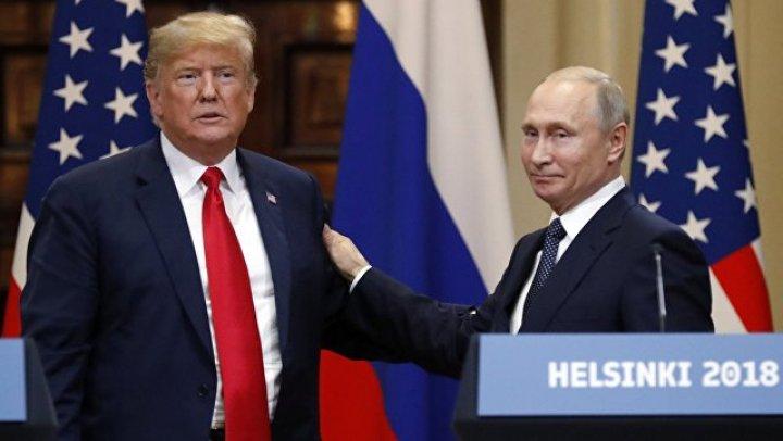 O FOST BĂTUTĂ O MONEDĂ în cinstea întrunirii lui Trump şi Putin. Vezi cum arată