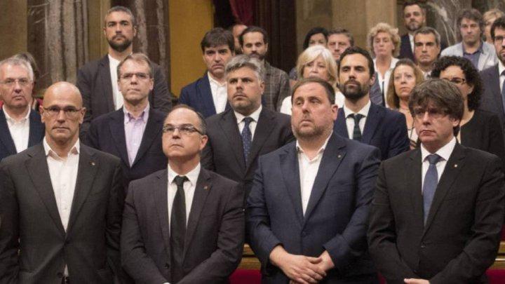 Parchetul spaniol cere până la 25 de ani de închisoare pentru liderii separatişti catalani