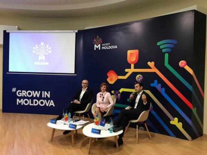 CREȘTE ÎN MOLDOVA. A fost lansat brandul de țară pentru atragerea investițiilor, cu sloganul Grow in Moldova