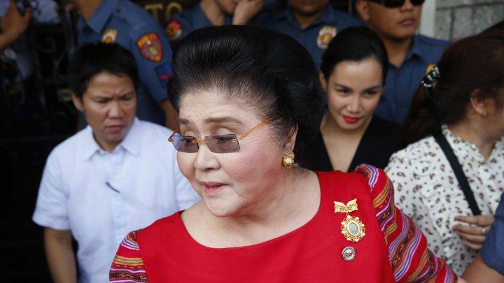 Fosta primă doamnă din Filipine, Imelda Marcos, a fost eliberată pe cauţiune