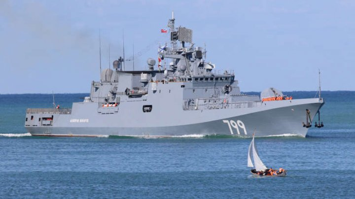 Rusia a anunțat că a trimis o nouă fregată cu rachete de croazieră în Mediterana