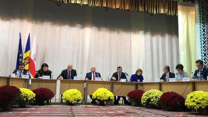 Echipa Ministerului Economiei și Infrastructurii,  în dialog cu locuitorii din raionul Sîngerei