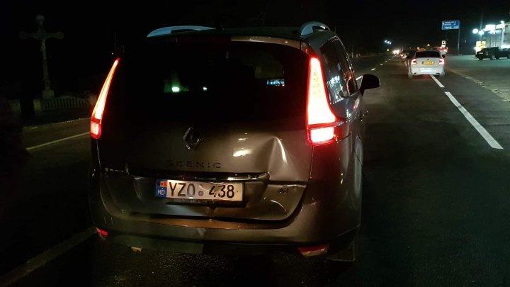 Accident violent în comuna Chetrosu. Două mașini, făcute zob (FOTO)