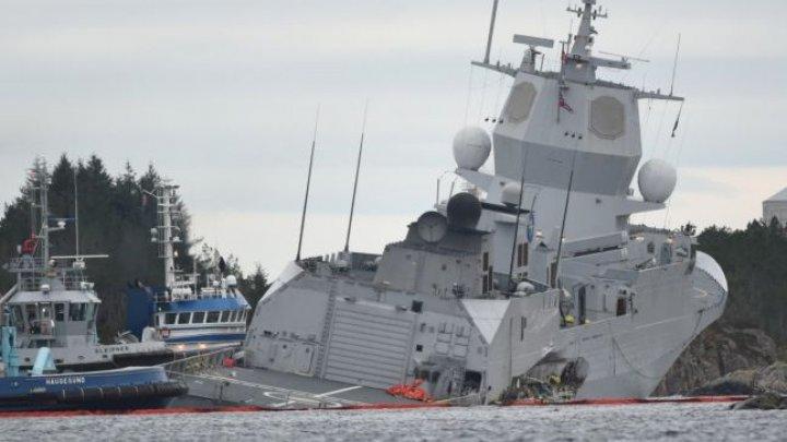 Cel puţin opt răniţi, după o coliziune între un petrolier şi o fregată care se întorcea de la exerciţiile NATO