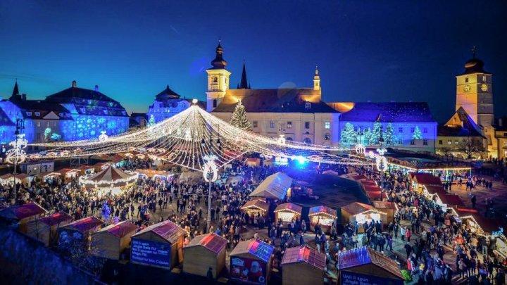 Orașul cu cele mai frumoase Târguri de Crăciun din România, are în acest an cel mai urât BRAD (GALERIE FOTO)