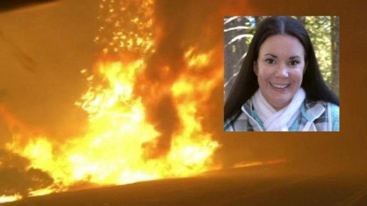 I-a salvat viaţa de la distanţă. POVESTEA CUTREMURĂTOARE a unei asistente din California, SALVATĂ din ghearele focului de către soţ: NU MURI, FUGI (VIDEO)