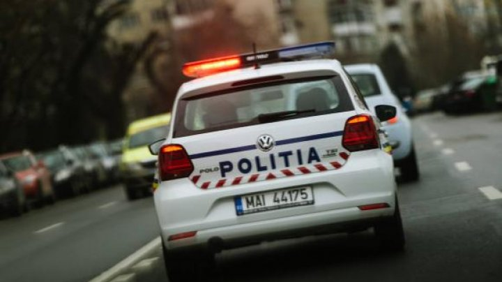 JAF CA ÎN FILME ÎN ROMÂNIA. Doi hoți au provocat o explozie pentru a fura o bancă