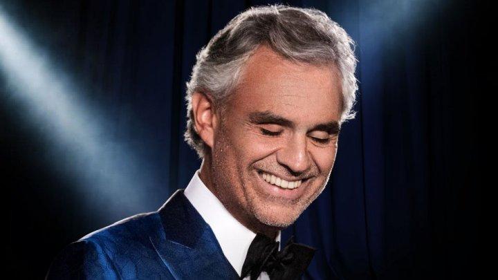 PREMIERĂ. Tenorul italian Andrea Bocelli s-a clasat pe primul loc în Billboard 200