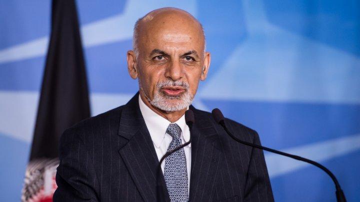 Preşedintele afgan Ashraf Ghani a prezentat la Geneva un plan de pace cu talibanii