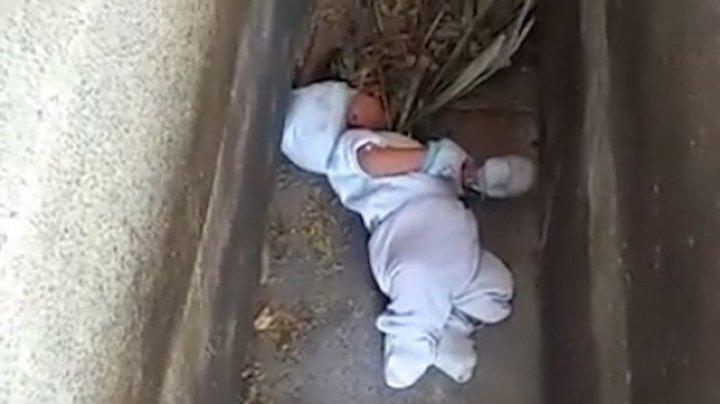 STRIGĂTOR LA CER! Un bebeluş de doar două luni, GĂSIT în cimitir, printre morminte (FOTO)