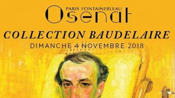 O scrisoare în care poetul francez Baudelaire îşi anunţa intenţia de a se sinucide va fi scoasă la licitaţie