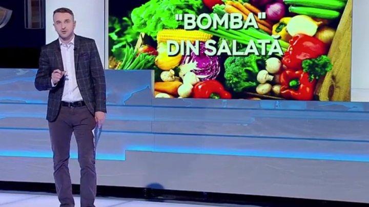 BOMBA din FARFURIE. Cum ne ferim de otrăvurile din supermarket şi care fructe şi legume conţin cele mai multe pesticide (VIDEO)