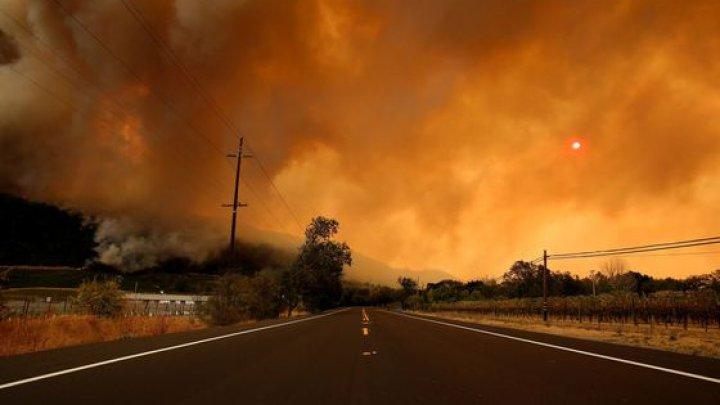 INFERNUL din California: 42 de morţi, iar oraşele Paradise şi Malibu sunt practic mistuite de flăcări (VIDEO)