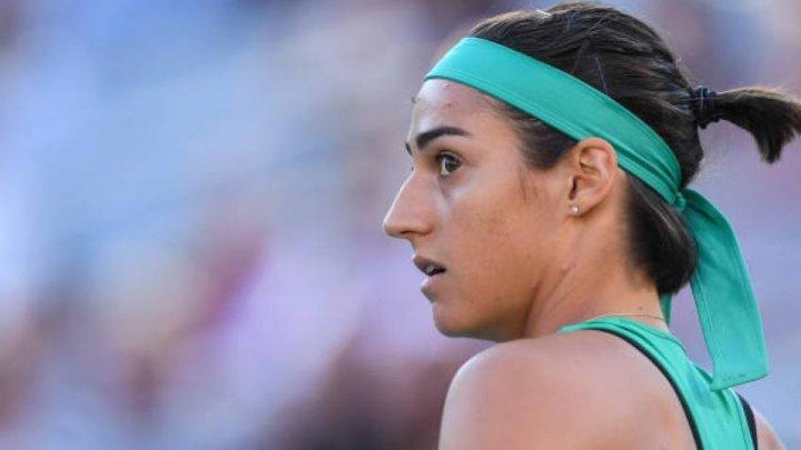 Jucătoarea franceză Caroline Garcia părăseşte turneul de la Zhuhai, deşi a învins-o pe Arina Sabalenka