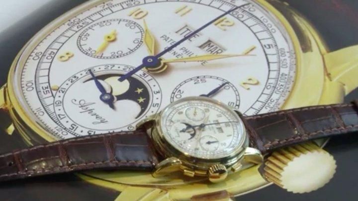 Un ceas Patek Philippe, evaluat la 4 milioane de euro, a fost scos la licitaţie