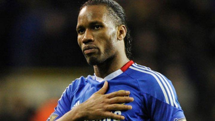 Didier Drogba, fostul atacant al echipei de fotbal Chelsea Londra şi-a anunţat retragerea