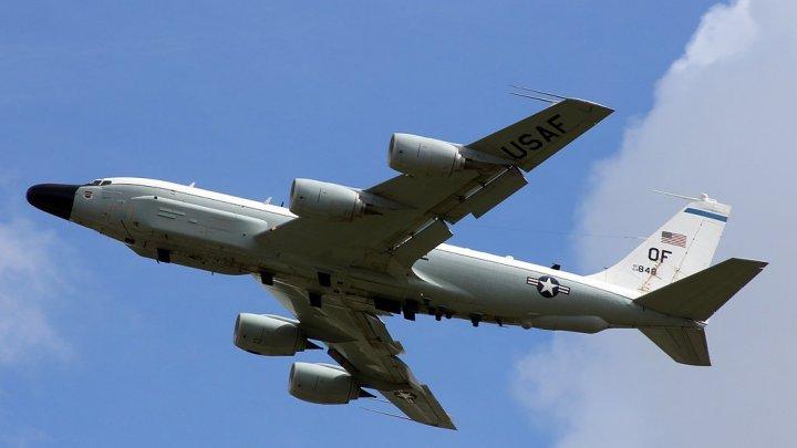 Kiev: Un avion american de recunoaştere a efectuat un zbor deasupra Ucrainei