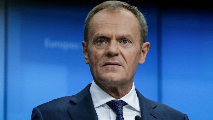 Donald Tusk a recomandat liderilor statelor membre să accepte o nouă amânare a datei Brexitului