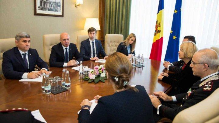 Italia va susține Republica Moldova în procesul de reformare a Trupelor de Carabinieri