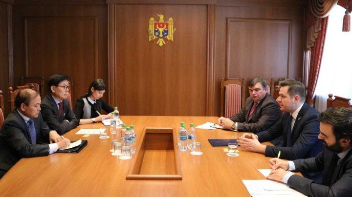 Relațiile moldo-coreene au fost discutate de Ministrul Tudor Ulianovschi cu ambasadorul Republicii Coreea