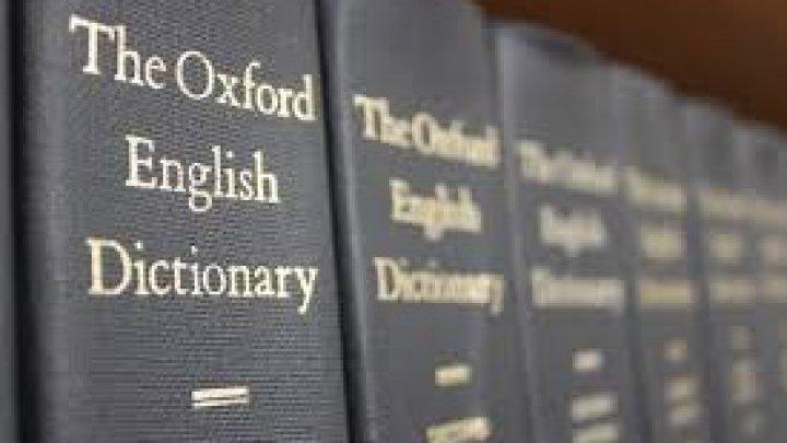 """""""Cuvântul anului"""" a fost anunţat de Dicţionarul Oxford"""