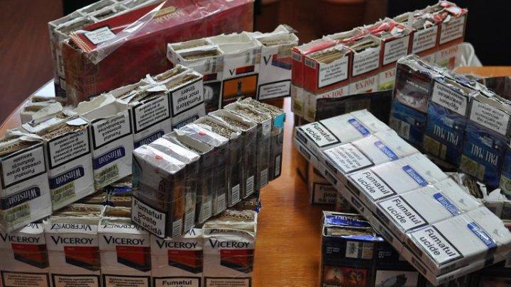 СONTRABANDĂ CA-N FILME! Un million de pachete cu ţigări, ascunse printre plăci de rigipis