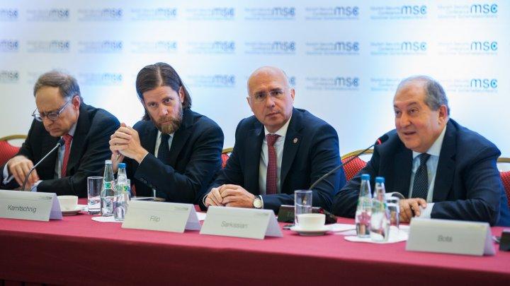 Pavel Filip: Voința politică și atmosfera de încredere, factorii necesari pentru soluţionarea conflictului transnistrean