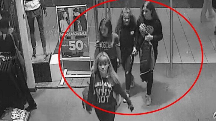 FĂRĂ PIC DE RUŞINE. Aceste patru tinere sunt căutate de Poliţia Capitalei (VIDEO)