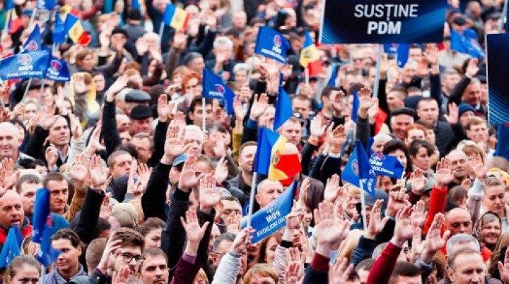 PDM ÎŞI MĂREŞTE ECHIPA. 360 de persoane din raionul Ialoveni au aderat la formațiunea politică
