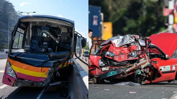 ACCIDENT GRAV în Hong Kong: 5 morţi şi 32 de răniţi
