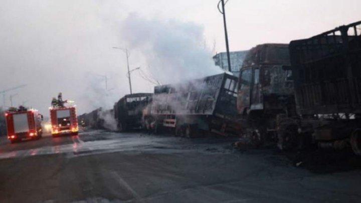 Situație dramatică în China. Cel puţin 22 de persoane, ucise în urma unei explozii (VIDEO)