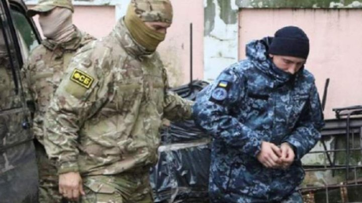 AREST PROVIZORIU. Trei marinari ucraineni implicați în conflictul de la Marea Azov și-au primit sentința. Ce măsuri impune Rusia restul marinarilor reținuți